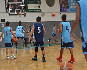 basketball program pic