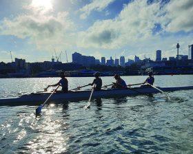 Rowing First Regatta