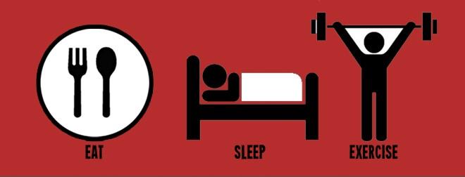 Eat-Sleep-Exercise